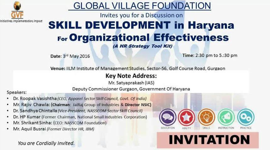 Leveraging Skill Development in Haryana for Organizational Effectiveness