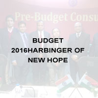 Budget 2016-Harbinger of New Hope