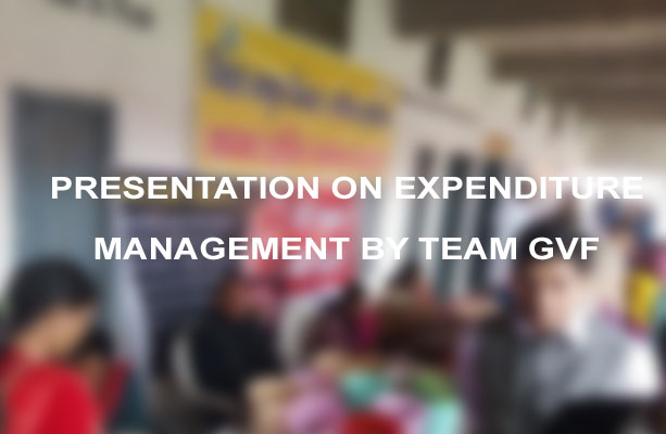 Presentation on expendituure management by team gvf